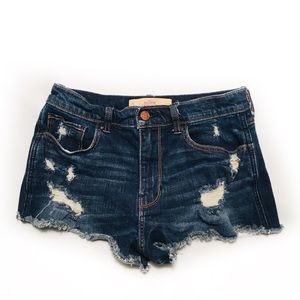 HOLLISTER Size 5 W27 Vintage Short High-Rise